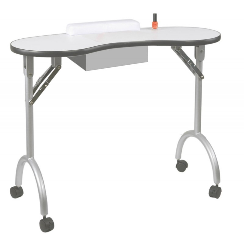 Table manucurie pliante - Table esthetique pliante legere ...