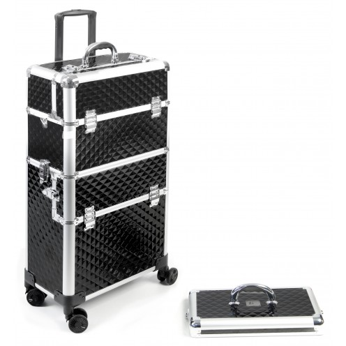 VALISE ROLLY 4 NOIRE