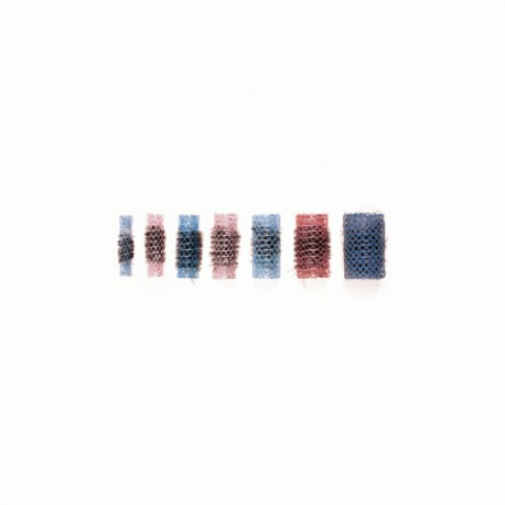 ROULEAUX TULLE BROSSE ROUGE 15MM