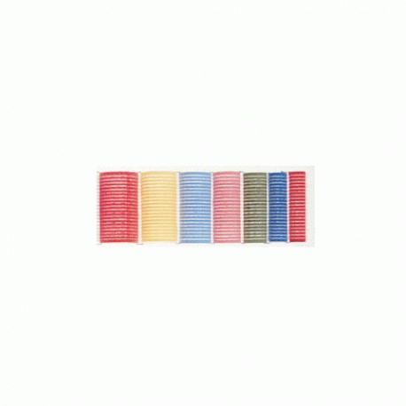 ROULEAUX VELCRO ROSE 24 MM