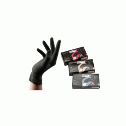 GANTS LATEX BLACK
