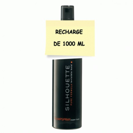 SILHOUETTE ULTRA FORT RECHARGE DE 1000 ML