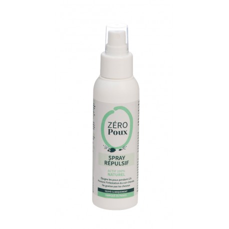 SPRAY REPULSIF ZERO POUX 100ML MULATO