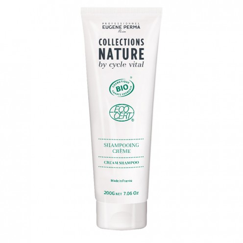 Shampooing crème bio CollectionNature by Cycle Vital Eugène Perma